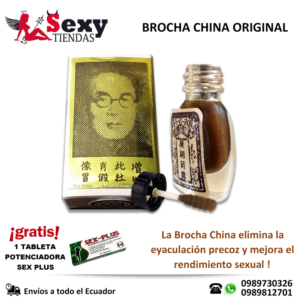 Brocha China Original Retardante y Potenciador